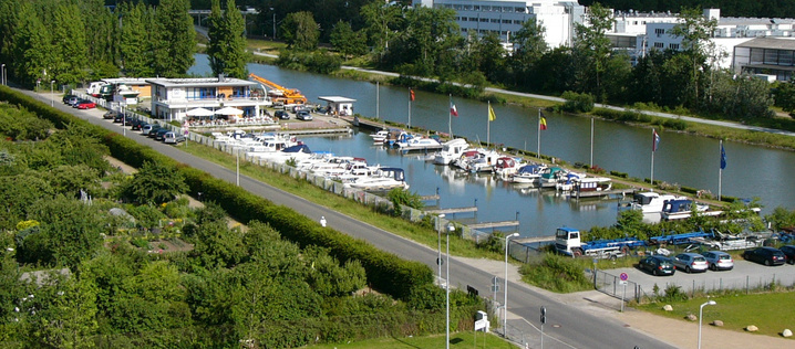 motorboat club Wolfsburg (photo: Wolfsburg AG)